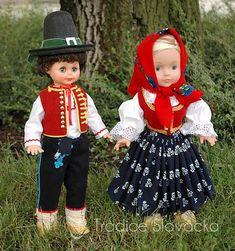 Krojované panenky – Tradice Slovácka, o.p.s. Harajuku, Costumes, Dolls, Dresses, Fashion, World, Baby Dolls, Vestidos, Moda