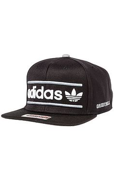 Adidas Hat Heritage Snapback in Black