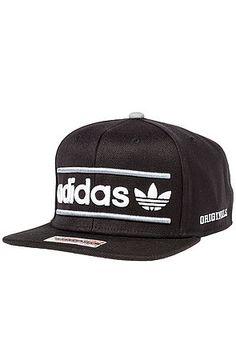 5c0963bb6b0f4 Adidas Hat Heritage Snapback in Black Adidas Hat