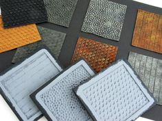 casting latex surfaces in Kapa-line foam