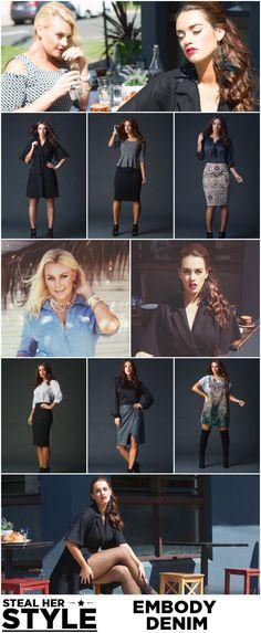 Suger Coat It | New Season Embody Denim | http://sugercoatit.com #plus #size #fashion #blog #new #season #2014