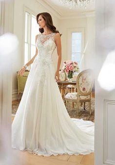 Sophia Tolli Y11570 Linnet Wedding Dress photo