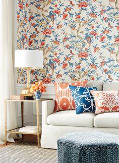 Thibaut Imperial Garden Giselle  Find @ Linde Limited Showroom / Portland, OR www.lindeltd.com
