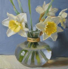 SOLD   Daffodils in February... That's amazing, you can see such spring beauty everywhere around - blossoming apple trees, daffodils, tiny ...
