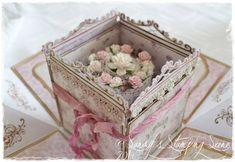 Double Layer Wedding Explosion Box