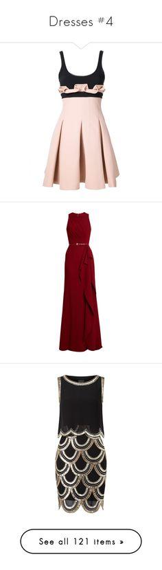 """Dresses #4"" by vanessa-m-108 ❤ liked on Polyvore featuring dresses, pleated dress, david koma, pink dress, pink pleated dress, david koma dress, gowns, long dress, elie saab and vestidos"