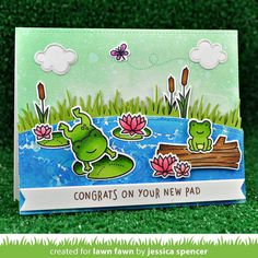 "1,081 Likes, 23 Comments - @lawnfawn on Instagram: ""This new set is Toadally Awesome! It features adorable amphibians and everything you need to create…"""