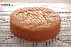Cómo hacer un bizcocho genovés perfecto. Receta básica para tartas