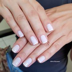 Combinações para unhas francesinhas, veja os esmaltes usados pelas manicures Manicures, Nails, Nail Art, My Style, Amanda, Minnie Mouse, Decoration, Natural, Light Nails