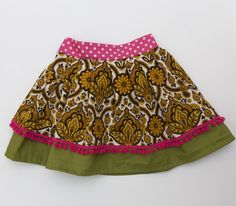 Sunshine Festival Girls Skirt by LittleBinks on Etsy