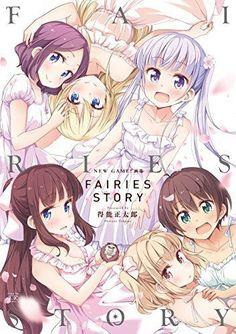 NEW GAME! Art Works FAIRIES STORY Anime Manga Illustration Art Book