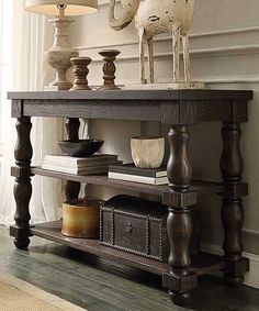 Look at this Mansfield Console Table on #zulily today!
