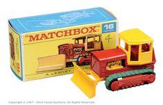 Matchbox Regular Wheels No.16d Case Bulldozer.