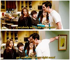 Modern Family that's my mom haha Modern Family Tv Show, Modern Family Funny, Modern Family Quotes, Tv Show Quotes, Movie Quotes, Funny Quotes, Humor Quotes, Phil Dunphy, How I Met Your Mother
