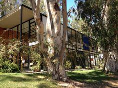 Charles Eames en Eero Saarinen 'Case Study House 8/ Eames House' Los Angeles (1945)