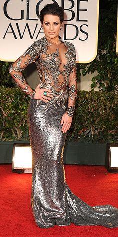 Golden Globe 2012 - Lea Michele