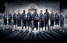 Basketball team poster BC Dnipro by Anatoly Kasyan, via Behance