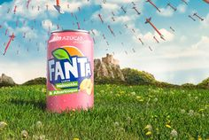 Fanta sabor Melocotón-Albaricoque Fanta Can, Carbonated Drinks, Beverages, Chocolate, Canning, Fruit, Mineral Water, Soft Drink, Virgin Party Drinks