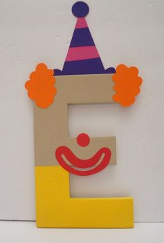 Circus Party Letters, Carnival Party, Circus Birthday, Carnival Birthday Party, Carnival Birthday Letters (price is per letter) Circus Activities, Circus Crafts, Carnival Crafts, Carnival Themes, Birthday Letters, Mickey Birthday, Circus Birthday, Turtle Birthday, Turtle Party