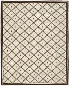 """ABC Home Moroccan Flat Weave Rug- 8'2""""x9'10"""""""