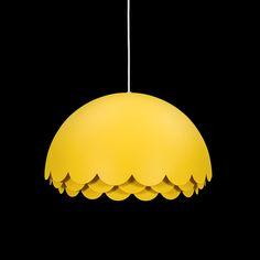 """Pendant light """"Bloom"""" designed by Fredrik Mattson for Zero."""