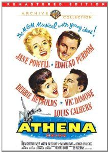 Amazon.com: Athena (Remastered): Jane Powell, Debbie Reynolds, Virginia Gibson, Nancy Kilgas, Dolores Starr, Jane Fischer, Cecile Rogers, Ri...