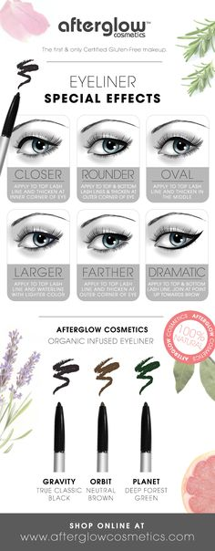 Here's how to apply eyeliner for your eye type