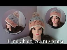 كروشيه طاقية بغرزة الضفيرة الجزء الاول/ / how to crochet a cable hat - YouTube
