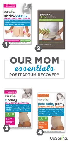 UpSpring helps moms bounce back after baby with well-researched, well-tested products loved by moms and recommended by doctors. See more at upspringbaby.com