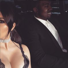 The mother of all chokers! Kim Kardashian sported her million dollar push present from husband Kanye West during a wedding in Miami. The mother of two couldn't resist and showed off her diamond encrusted Lorraine Schwartz choker to her millions of fans.