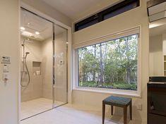 空間に溶け込むシャワールーム|事例紹介|BAINCOUTURE|NIKKO