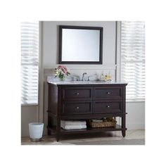 Home Decorators Collection Teasian 36 In Vanity Cabinet Only In Chocolate Brown Home The O