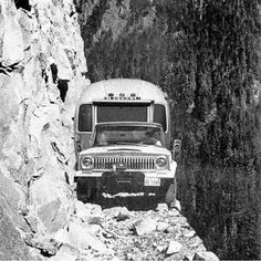 If this wasn't photoshopped, I hope everyone in there climbed out, crawled under....then beat the crap out of the driver.