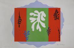 Henri Matisse, The Dancer, 1949, lithograph on paper, Tate Britain, London.
