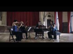 """Puccini """"Crisantemi"""" performed by the Enso String Quartet"""