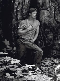 """Brad Pitt: """"My greatest moments of solitude (my churches) are found in the land, on the road . . ."""""""