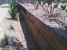 Image result for iron retaining wall