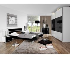 Rauch Wardrobes and Bedroom Furniture stockists, lowest prices in UK, including Rauch Sliding Wardrobe, Rauch Hinged Door Wardrobe and Rauch Furniture. Rauch Wardrobes, Sliding Wardrobe, Laque, Mavis, Bedroom Furniture, Room Ideas, Home Decor, Black Bedroom Design, Camera Obscura