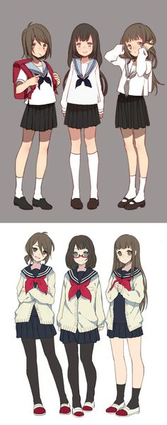 trendy drawing anime girl outfit school uniforms – My Best Ideas Manga Anime, Manga Girl, Anime Art, Chibi, Anime School Girl, Anime Girls, School Uniform Anime, Japanese School Uniform, Anime Style