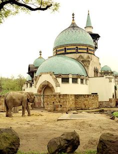 The oldest zoo in the world and (from the pictures) one of the most breathtaking!