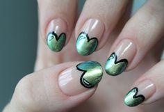 psychosandra heart VALENTINE  #nail #nails #nailart
