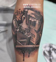 Tatovering Marlboro - Miguel Bohigues - Vtattoo
