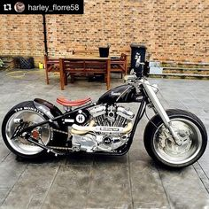 You have a really special & highly customized Harley Davidson #harleydavidson #chopper
