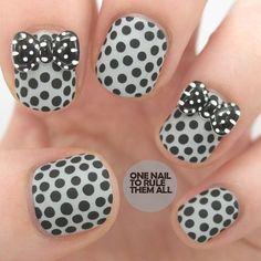 33 Cute Nail Ideas With Bows