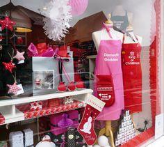 Christmas 2013 Pink Brown, Window Shopping, Visual Merchandising, Popcorn Maker, Windows, Display, Deco, Christmas, Tent