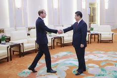 Prince William Photos: Prince William Visits China: Day 2
