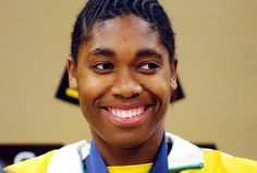 Semenya, forced to take gender test, is a woman . and a man Caster Semenya, Gender Test, Word Of Mouth Marketing, World Championship, Olympic Games, Equality, Olympics, Athlete, Rio 2016