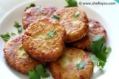 Easy Tempeh Cutlets (fritters) recipe