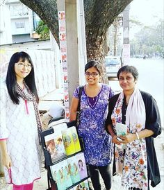 Public witnessing at a bus stop in Bangalore India. Photo shared by @_simplyangel__