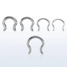 Septun retainer curvado. Esconde tu piercing! Ideal para el colegio o el trabajo.